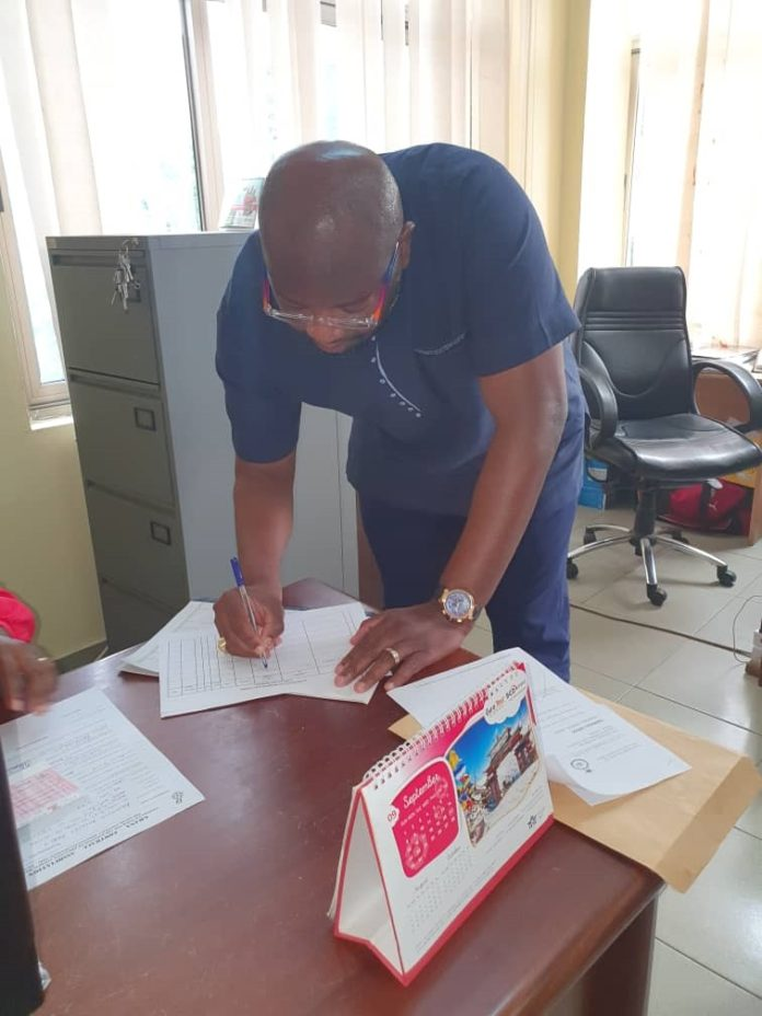 Randy Abbey files for nomination for Executive Council position