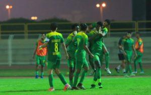 Samuel Sarfo: Former Liberty defender on target as Al Khaleej lose to Ohod