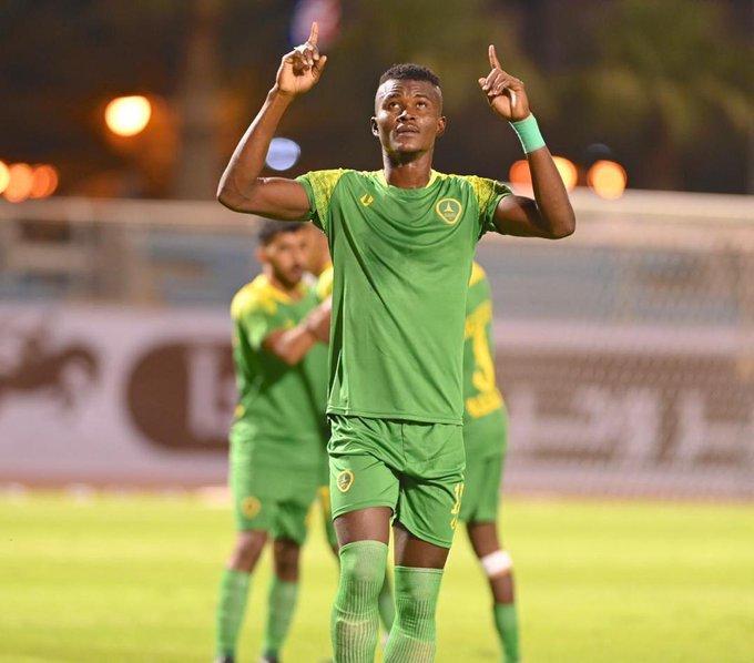 Ghana defender Samuel Sarfo nets superb brace for Al Khaleej in their 3-1 win over Al Jabalain