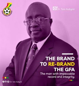 Confirmed: Dr. Tony Aubynn picks nomination forms to contest GFA presidency