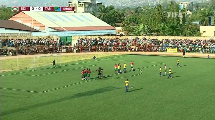 LIVE: Burundi vs Tanzania FIFA world cup qaualifier for ...