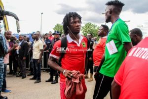 Caf Champions League: Asante Kotoko forward Songne Yacouba disappointed by snub for Etoile du Sahel game