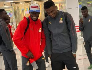 Black Meteors touchdown in Ghana after historic Afcon qualification