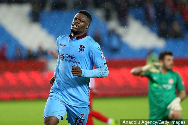 Trabzonspor forward Caleb Ekuban facing four weeks on sidelines