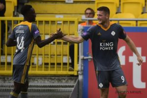 Ghanaian youngster Kamal Sowah earns applause from OH Leuven striker Thomas Henry