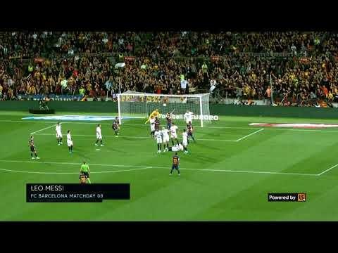 Watch Lionel Messi's stunning free kick and Luka Modric's strike on the LiveScore 360Replay MD8