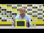 Rueda de prensa de Luis César tras el UD Las Palmas vs RC Deportivo (3-0)