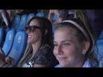 Ale Xavier e Natália Guitler de visita ao Manchester City