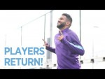 EVERYONE IS HOME | Man City Training