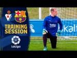 Special training session in Vitoria ahead of LaLiga visit to Eibar
