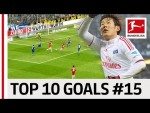 Top 10 Goals Jersey Number 15 - Son, Hummels & Co.