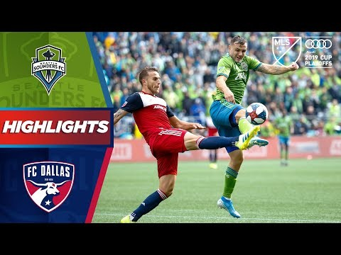 Seattle Sounders vs. FC Dallas | Goals Galore & A Playoff Hat Trick! | HIGHLIGHTS
