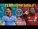 When Toronto Plays NYCFC, Big Stars Score Huge Goals! | Villa, Giovinco, Altidore, Mitrita and More