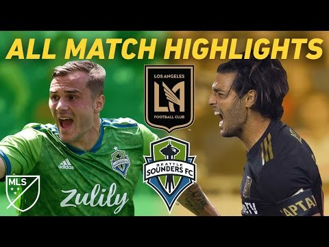History is Made When LAFC Plays Seattle Sounders | All Match Highlights