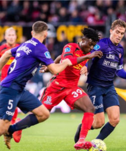Ghanaian midfielder Kudus Mohammed scores in FC Nordsjælland win over SonderjyskE