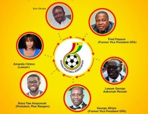 Mybet.africa places competitive odds on 6 aspirants for GFA Presidency