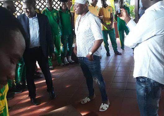 Ghana legend Abedi Pele hosts Nigerien top-flight side Sahel FC