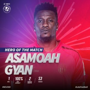 VIDEO: Asamoah Gyan's header earns NorthEast United important win against Odisha