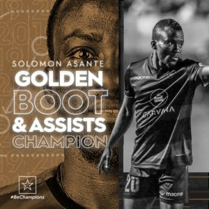 Ghanaian winger Solomon Asante clinches USL Golden Boot