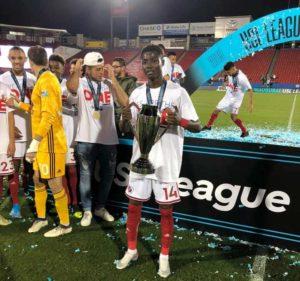 Ghanaian striker Richard Danso wins maiden USL-One championship with North Texas SC