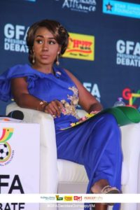 The next president of the GFA must have a good reputation - Amanda Clinton