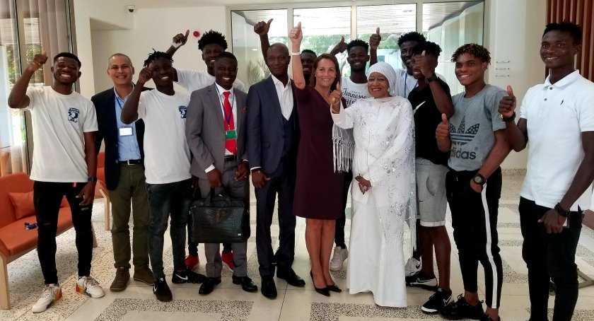 Bechem United, DAF extends appreciation to French Embassy after European tour