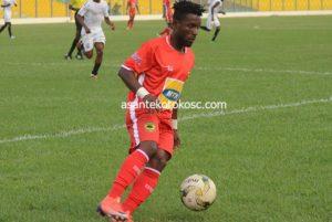 Kotoko forward Maxwell Baakoh returns to training after injury