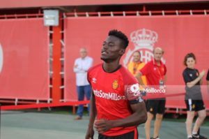 Iddrisu and Lumor in line to feature for Real Mallorca against Real Madrid tomorrow
