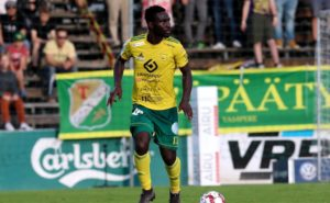 Baba Mensah delighted with Ilves progress