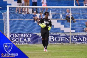 Razak Brimah continues his impressive form for Linares Deportivo with 5th clean sheet