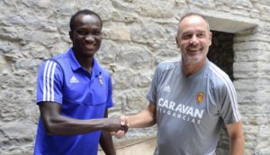Real Zaragoza commence procedure to terminate contract of Ghana's Raphael Dwamena