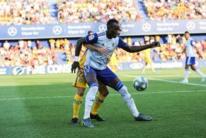 Real Zaragoza finally release statement on Ghana's Raphael Dwamena health condition