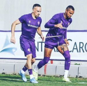 Kevin Prince Boateng returns to Fiorentina training ahead of Brescia encounter