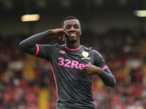 Eddie Nketiah opens up on constantly being benched at Leeds Utd; Says he is unhappy