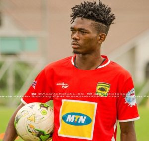 Empem Dacosta vows to fight for starting spot at Kotoko after failed Legon Cities move