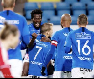 Ghanaian forward Fatawu Safiu scores late to snatch a point for Trelleborgs in Sweden