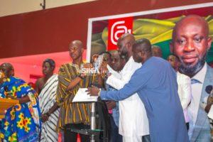 GFA presidential elections: George Afriyie launches manifesto in Sunyani