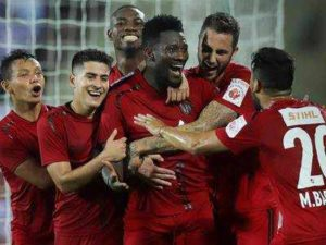 Asamoah Gyan reveals he hopes playing in Indian will attract more top players
