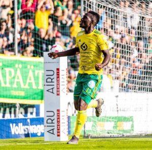 Finnish club Ilves names Baba Mensah as best defender