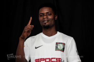 Berekum Chelsea signs James Wiafe on a season-long loan from Dreams FC