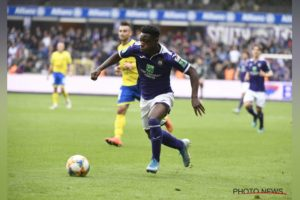 Jérémy Doku in line for senior team duties after bagging hat-trick for Anderlecht u-21