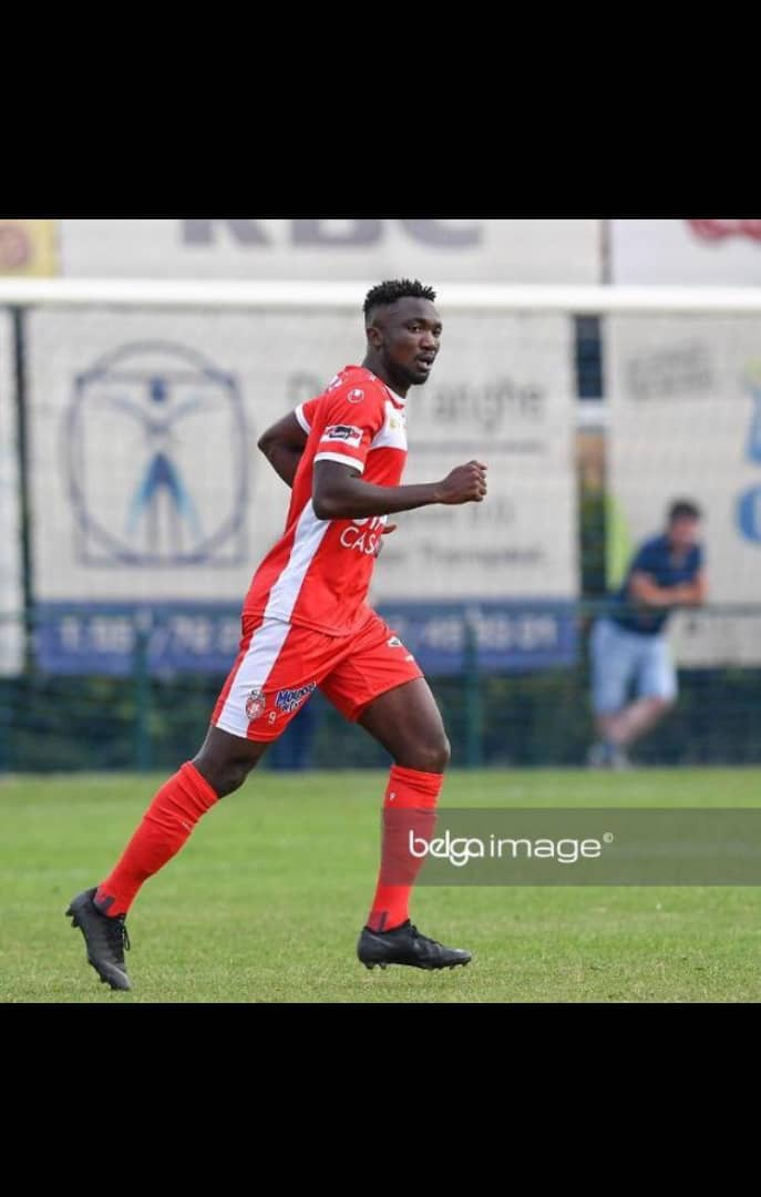 Jonah Osabutey: Ghanaian striker aims to score more goals for Royal Mouscron