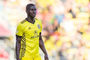 Ghanaian defender Jonathan Mensah featured in Columbus Crew's win over FC Cincinnati