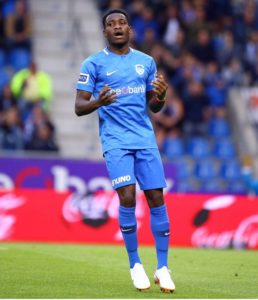 Joseph Paintsil to miss Genk's clash with Standard Liege today