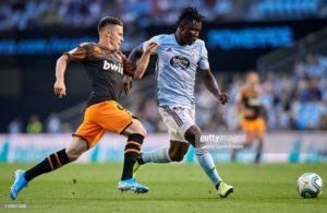 Goalkeeper Rubén Blanco wins Celta Vigo player of the month award ahead of Ghana's Joseph Aidoo