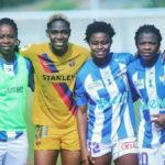 Ghana's Princella Adubea features as Sporting de Huelva lose to Barcelona