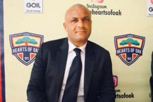 Kim Grant wants Hearts of Oak to be more clinical in front of goal