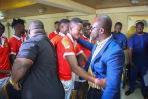 GFA president Kurt Okraku urges Kotoko to go for victory against FC San Pedro