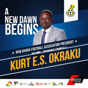 BREAKING NEWS: Kurt Okraku wins GFA presidential election