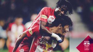 Majeed Ashimeru savors Red Bull Salzburg 6-0 mauling of Altach